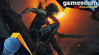 gamescom 2018 | Shadow of the Tomb Raider - Interview mit Daniel Bisson (Game Director)