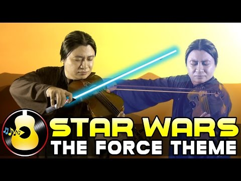 Star Wars: A New Hope - The Force Theme (Violin & Guitar Cover) || String Player Gamer