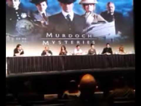 Murdoch Mysteries - Fan Expo Canada 2014 - Part 1