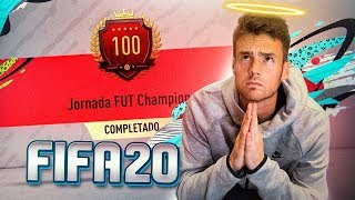 RECOMPENSAS FUT CHAMPIONS TOP 100 EN FIFA 20!!