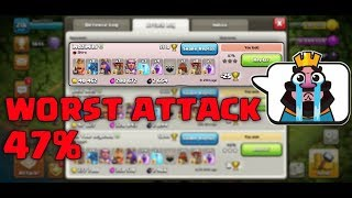 WORST ATTACK EVER IN CLASH OF CLANS HISTORY (HINDI)SAM1735