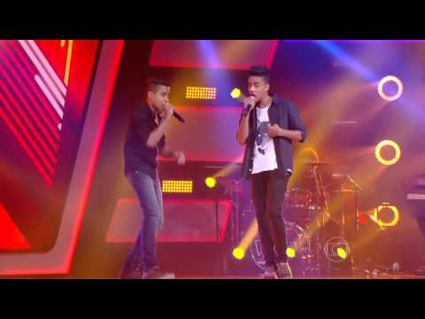 Íkaro e Rodrigo canta 'Pra Você' no The Voice Kids - Audições|1ª Temporada