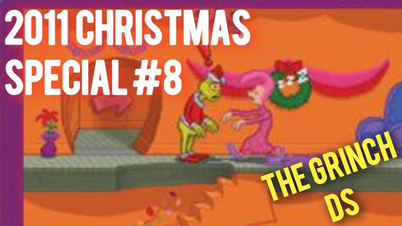 2011 christmas video games 8 how the grinch stole christmas ds - How The Grinch Stole Christmas Video