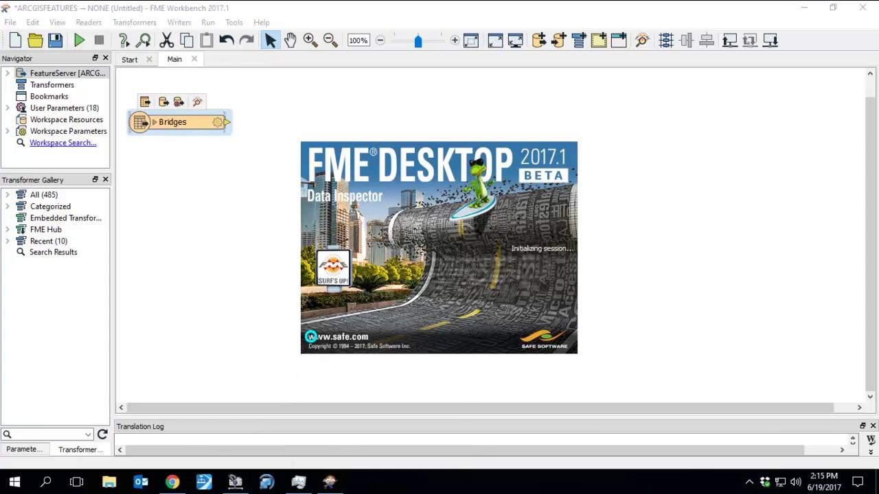 ArcGIS Online - FME Workbench Training
