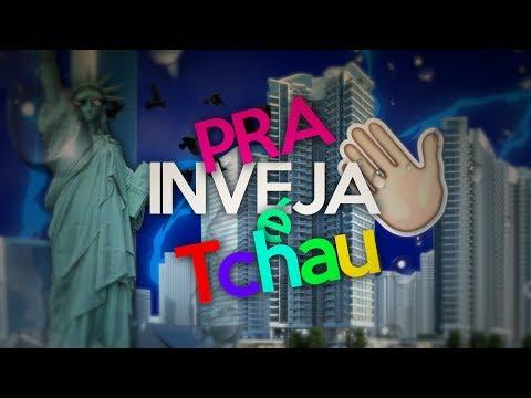 Tipografia - Pra Inveja é Tchau (MC Kevin e MC Davi)