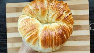 Cách làm bánh mì cuộn len nhân nho sữa chua - Bep Huele