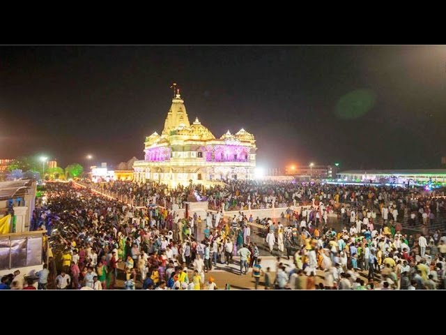 Krishna Janmastami 2015 Prem Mandir Vrindavan Mathura Video Image