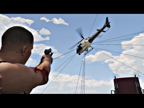 GTA 5 PC Spiderman - Just Cause 2 Mod (GTA 5 Mods Gameplay Moments)