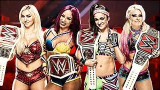 WWE Raw Women's Championship History