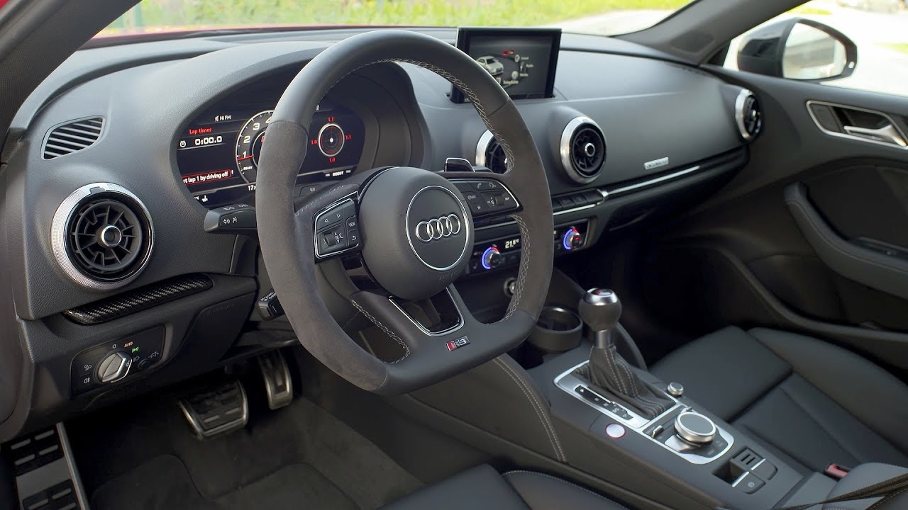2018 Audi Rs 3 Sedan Interior Youtube