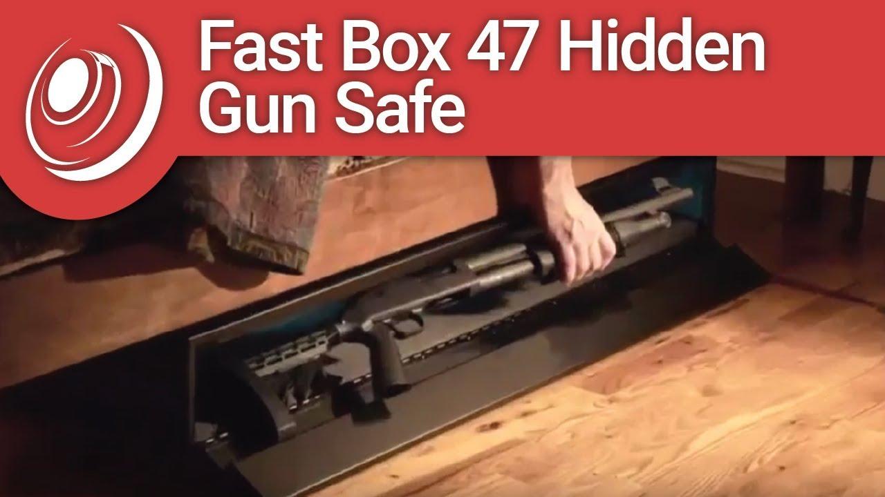 SecureIt Tactical FB-47-01 Fast Box 47 Hidden Gun Safe