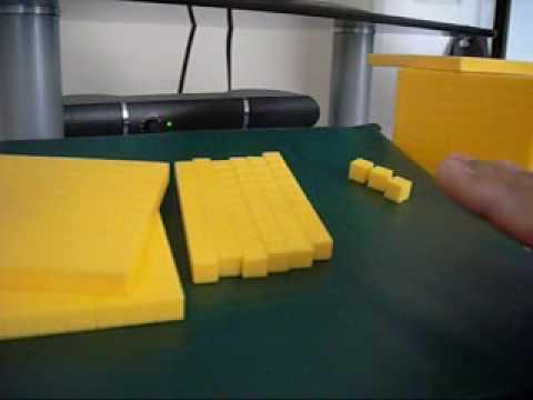 Base 10 Blocks Lesson 1 Intro and Explore