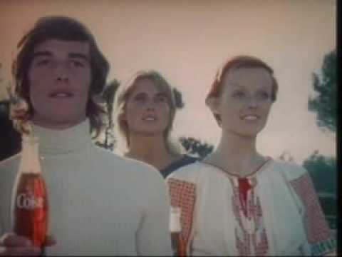 I'd Like To Buy The World A Coke Commercial 1971