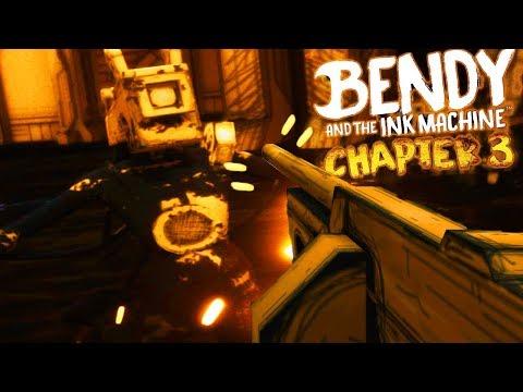 UNLOCKING ALICE ANGELS SECRET TOMMY GUN! | Bendy and the Ink Machine CHAPTER 3 (SECRET WEAPON)