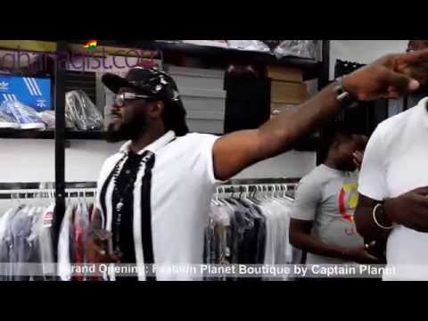 Inside Captain Planet's Fashion Planet Boutique | @GhanaGist Video