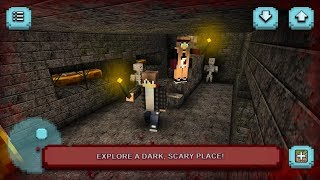 Scary Craft: Crafting, Building & Survival Horror Android Gameplay