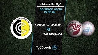 CSD Comunicaciones vs CD UAI Urquiza full match