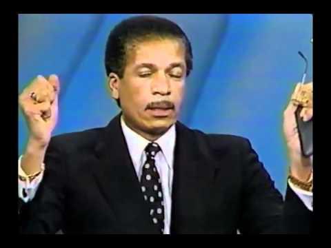 Edward C. Lawson on Oprah Winfrey Show, JANUARY 1987 - RACISM Part 3/3