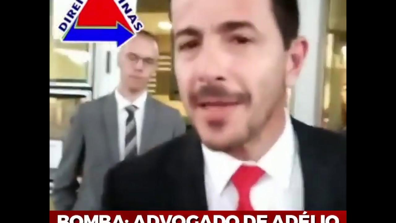 BOMBA: ADVOGADO DE ADÉLIO DIZ QUE HÁ MANDANTE!