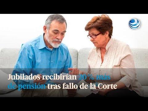 Jubilados recibirían 20% más de pensión tras fallo de la Corte