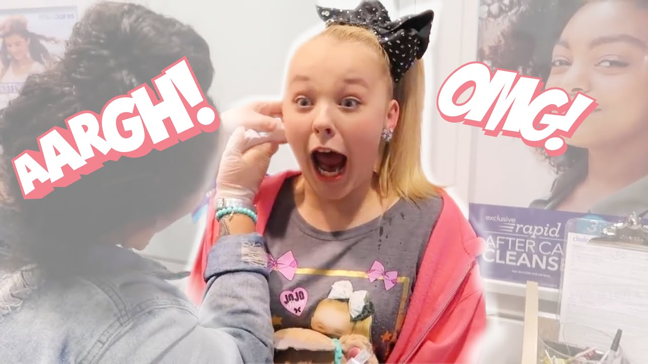 GETTING MY EARS PIERCED FOR THE SECOND TIME!!!