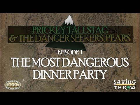 The Most Dangerous Dinner Party - A Savage Worlds Fantasy One-Shot