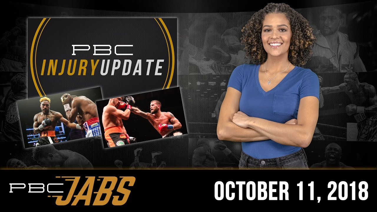 PBC Jabs: October 11, 2018