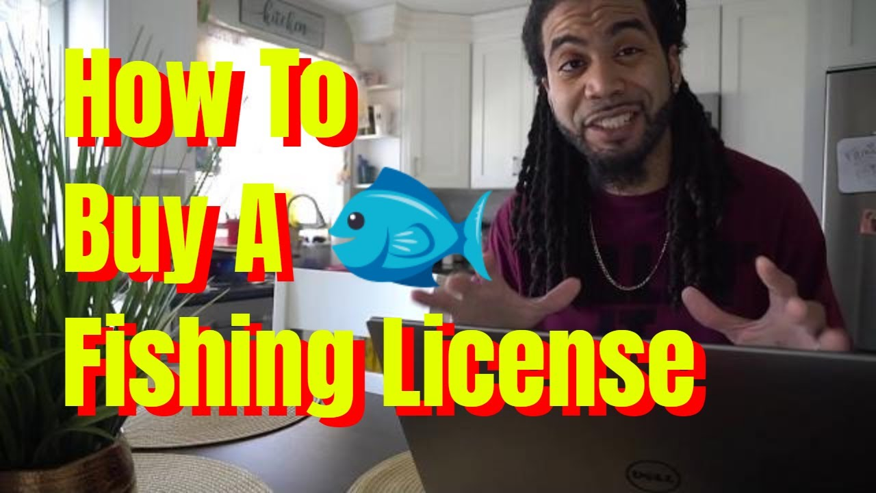 How To Buy A Fishing License Online Youtube