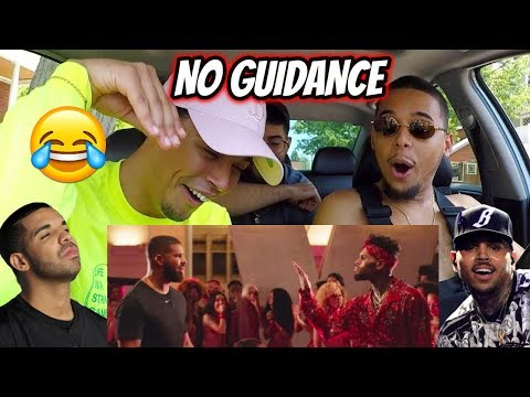 Chris Brown - No Guidance   ft Drake  REACTION REVIEW