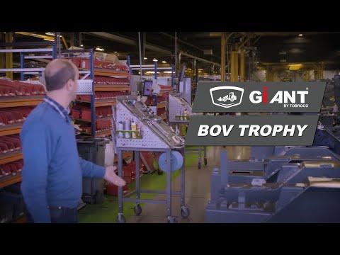 Introductie TOBROCO Machines tijdens de uitreiking van de BOV Trofee