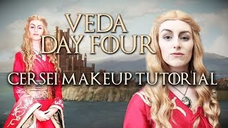 Cersei Lannister Makeup Tutorial // VEDA 2016 Day 4