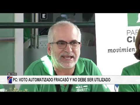 """Participación Ciudadana: """"Voto automatizado fracasó y no debe ser utilizado"""""""