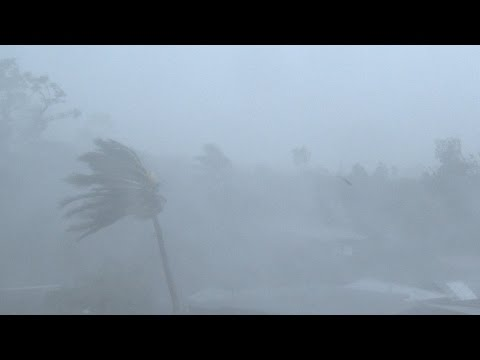 Typhoon Glenda / Rammasun Strikes Legaspi Philippines Breaking News Footage