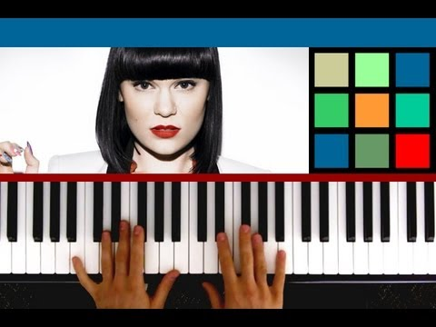 How To Play Domino Piano Tutorial Sheet Music Jessie J Youtube