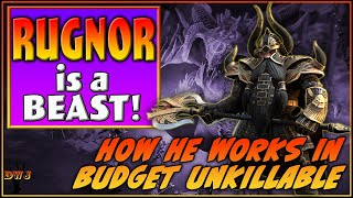 Rugnor is a BEAST! How to use Rugnor in Budget Unkillable | Raid Shadow Legends