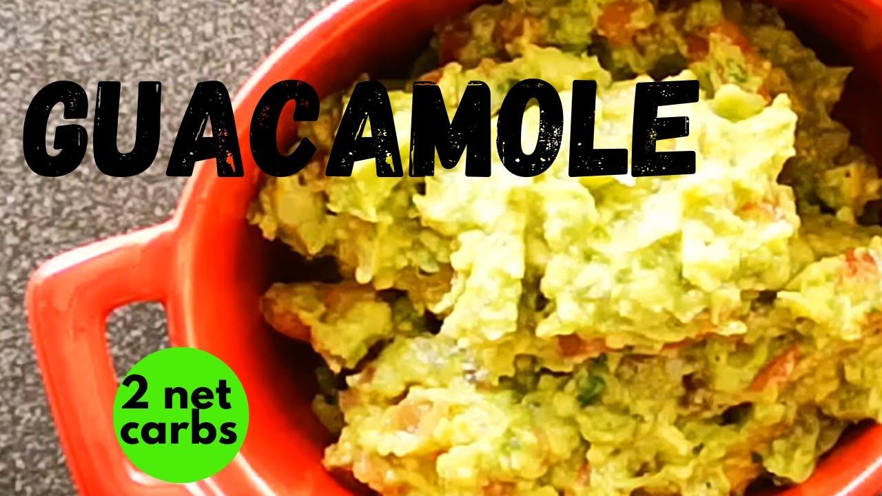 Non Browning Avocado Guacamole Recipe Keto Guacamole Dip Youtube