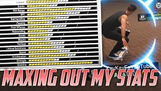MAXING OUT MY PLAYERS STATS! 2K19 MYCAREER! EP.4