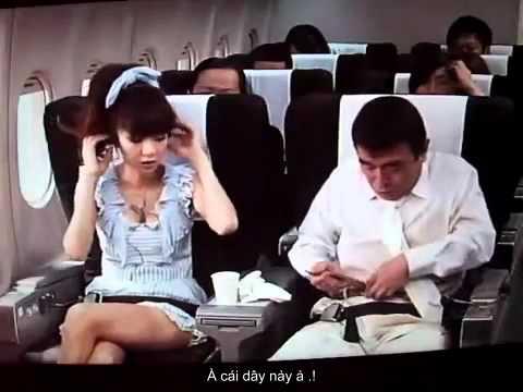 [Hài Nhật- Vietsud] Lần đầu đi máy bay .! Cười Bể Bụng .!