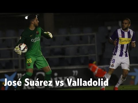 José Suárez vs. Valladolid | Individual Highlights | Barcelona B