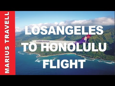 LosAngeles LAX to Honolulu HNL Flight Landing