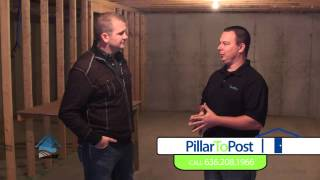 Welcome Home | Pillar To Post | Basement