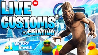 🛑😜 FORTNITE PS4 LIVE - France CUSTOMS GAMES WITH SUBS AND CREATIVE, NEW SKIN - #197 #FORTNITE