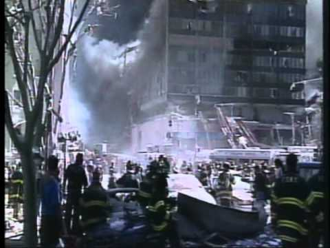 WTC1 'Collapse' and Ground Zero raw footage - Sauret