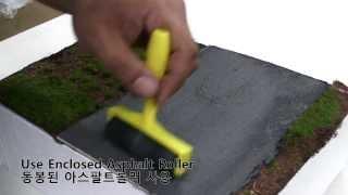 Quick Diorama Asphalt Road Kit Usage Video