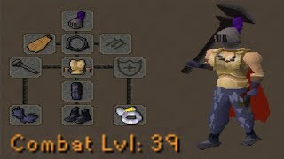 Level 39 with a Fire Cape pking