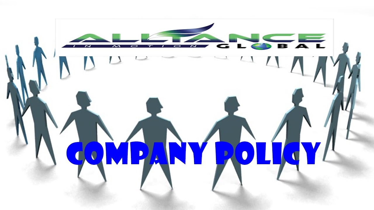 AIM Global Company Policy Explained by Jurgen Gonzales YouTube – Company Policy