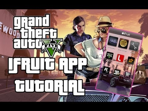 Grand Theft Auto V iFruit App Tutorial
