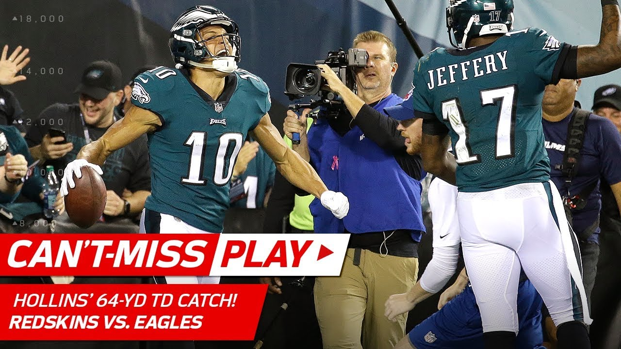 best website 85515 95263 Carson Wentz's 64-Yard TD Strike to Mack Hollins! 🎯 | Can't-Miss Play |  NFL Wk 7 Highlights