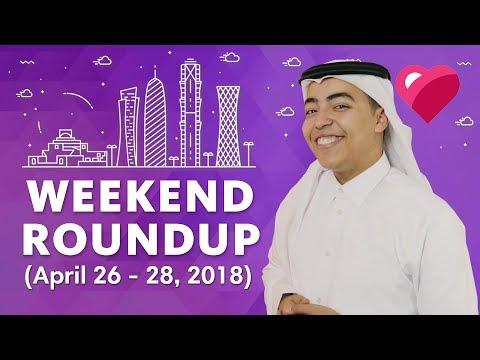 Top 5 Qatar Events (April 26-28, 2018)