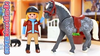 Establo de caballos de Playmobil Country - Clicks  Cofre.